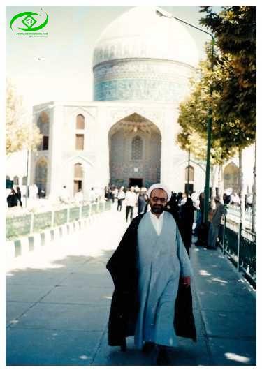 مشهد مقدس- آرامگاه خواجه ربیع / سال 1380